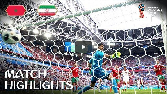 Morocco v Iran Match-4 Highlights 15-June-2018