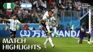 Nigeria vs Argentina MATCH-39 HIGHLIGHTS 26-JUNE-2018