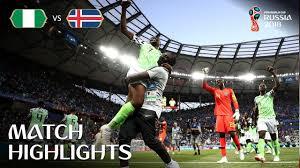 Nigeria vs Iceland  MATCH-25 HIGHLIGHTS 22-JUNE-2018