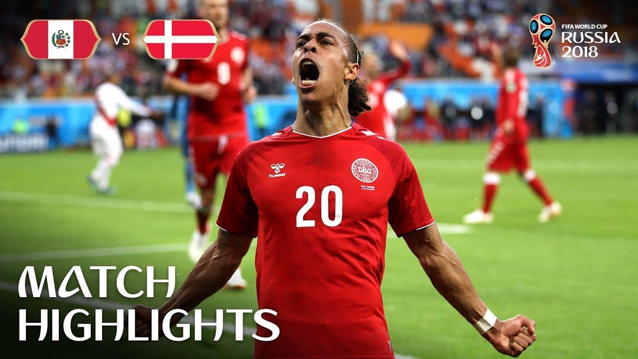 Peru v Denmark MATCH-6 HIGHLIGHTS 16-JUNE-2018