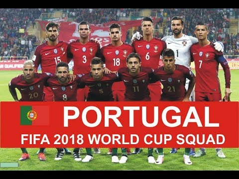 Portugal 2018 FIFA World Cup Squad