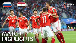 RUSSIA vs EGYPT MATCH-17 HIGHLIGHTS 19-JUNE-2018
