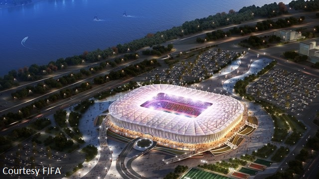 Rostov on Don Hosting FIFA World Cup 2018