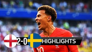 SWEDEN VS ENGLAND MATCH 59-HIGHLIGHTS 7-JULY-2018