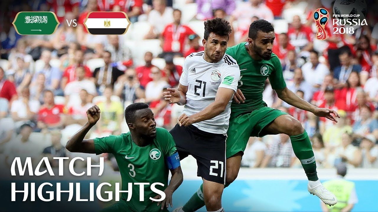 Saudi Arabia vs Egypt  MATCH-34 HIGHLIGHTS 25-JUNE-2018