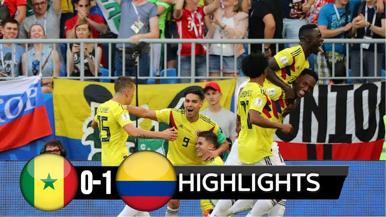 Senegal v Colombia MATCH-48 HIGHLIGHTS 28-JUNE-2018