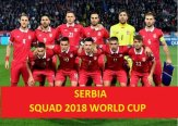 Serbia 2018 FIFA World Cup Squad