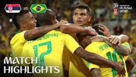 Serbia vs Brazil MATCH-41 HIGHLIGHTS 27-JUNE-2018