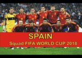 Spain 2018 FIFA World Cup Squad