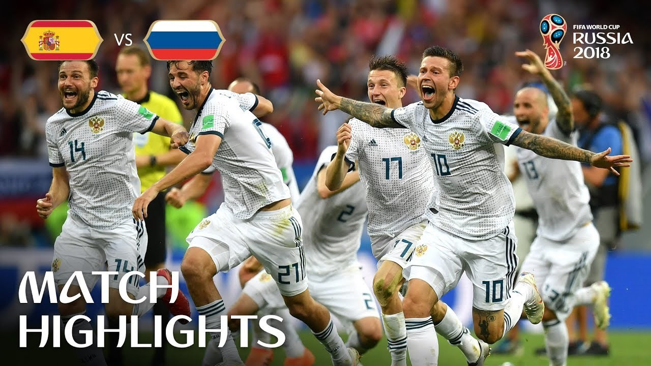 Spain vs Russia MATCH 51-HIGHLIGHTS 1st-July-2018