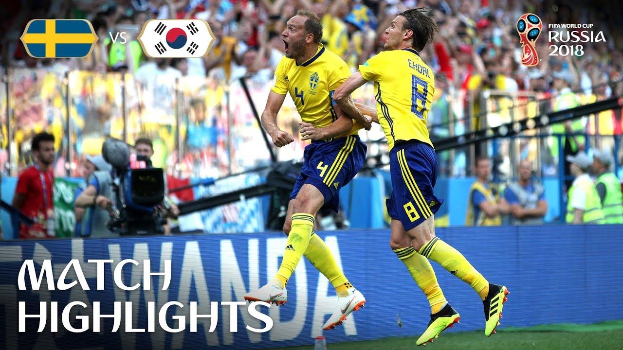 Sweden v Korea MATCH-12 HIGHLIGHTS 18-JUNE-2018