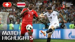 Switzerland v Costa Rica MATCH-42 HIGHLIGHTS 27-JUNE-2018