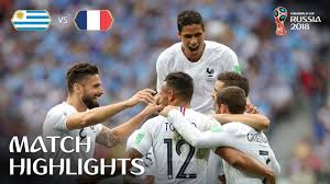 URUGUAY VS FRANCE MATCH 57-HIGHLIGHTS 6-JULY-2018