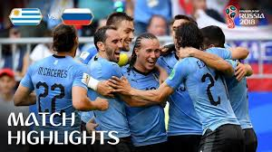 Uruguay v Russia MATCH-33 HIGHLIGHTS 25-JUNE-2018