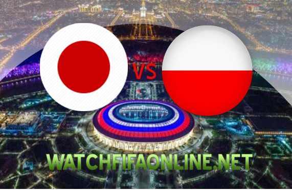 Watch Japan vs Poland FIFA 2018 Stream