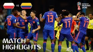 poland Vs Colombia MATCH-32 HIGHLIGHTS 24-JUNE-2018